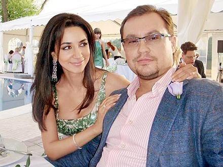 Зара с мужем Сергеем