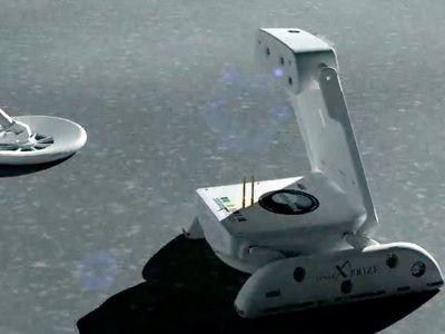 Новый лунный робот