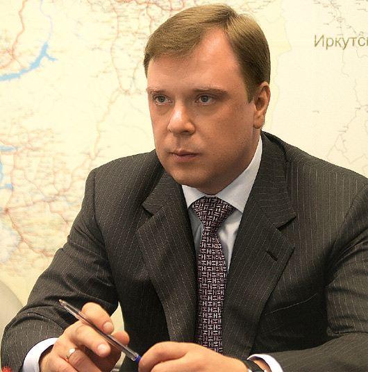 Министр промышленности и энергетики Красноярского края Денис Пашков