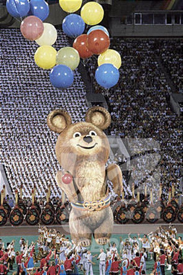 Олимпийский медвежонок может вернуться в 2014 году