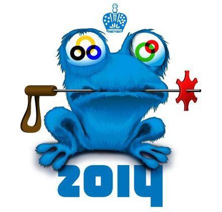 На неофициальные символы Олимпиады, например, жабу Зойч оркомитет Игр также оформил права