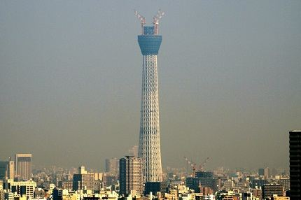 Tower in Tokyo - the second highest