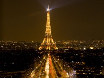 Tower of the most romantic city