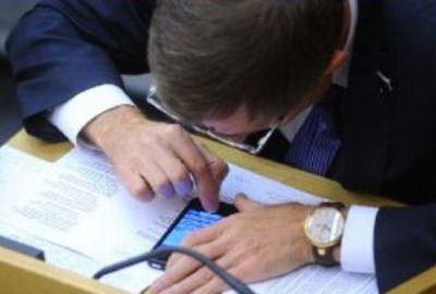 Смартфоны будут использоваться чиновниками ведомства