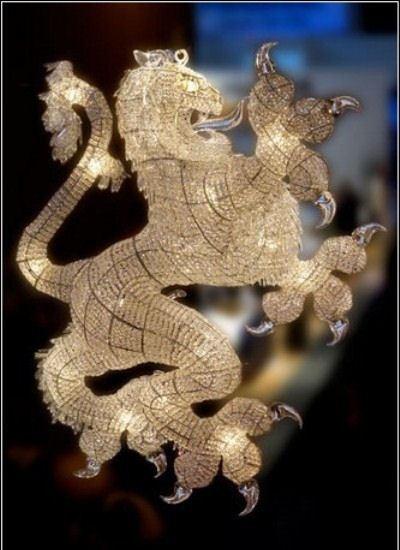 Люстра-дракон