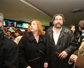 Дмитрий Назаров с женой Ольгой