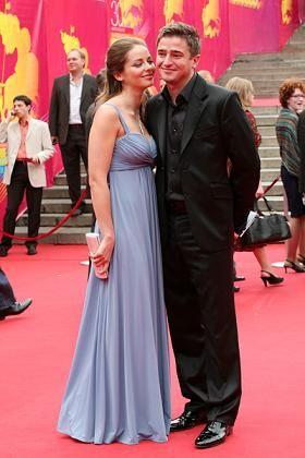 Марина Александрова с бывшим супругом