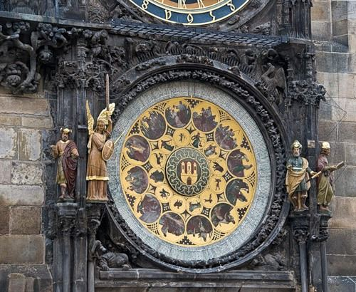 Пражские часы всегда отличались необычайной красотой