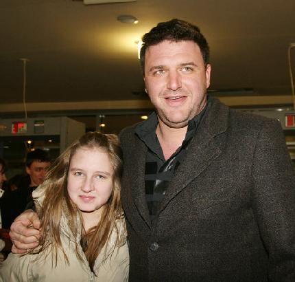 Максим Виторган с дочерью