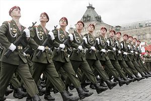 Ограничение будет связано с репетициями Парада Победы