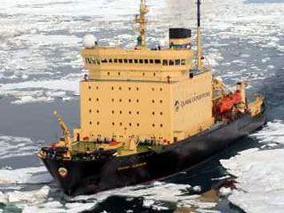Ледокол - очень мощный вид морского транспорта
