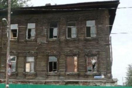Здание сгорело во время пожара