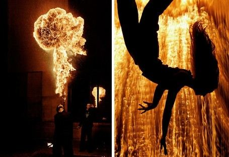 Стихия огня на снимках Тома Лакоста