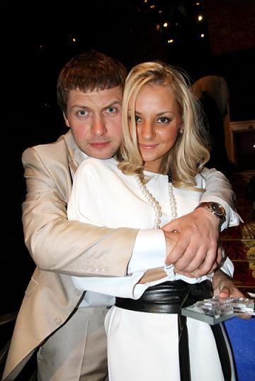 Даша Сагалова с мужем Константином Масленниковым