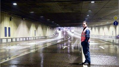 Менять в самом длинном московском тоннеле будут асфальтовое покрытие