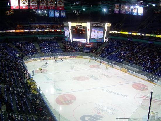В Хельсинки можно будет смотреть матчи чемпионата мира по хоккею, не выходя из сауны