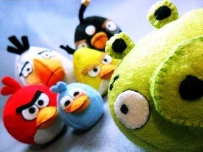Персонажи Angry Birds популярны во всем мире