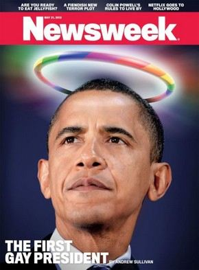 Барак Обама на обложке журнала Newsweek
