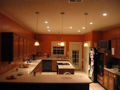 Освещение на кухне должно создавать уют.