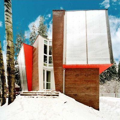 Российская семья построила «дом будущего».