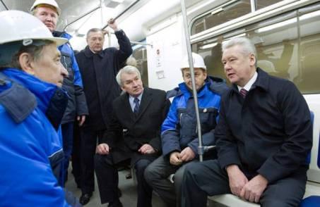 Мэр Москвы Сергей Собянин строительство метро держит на особом контроле