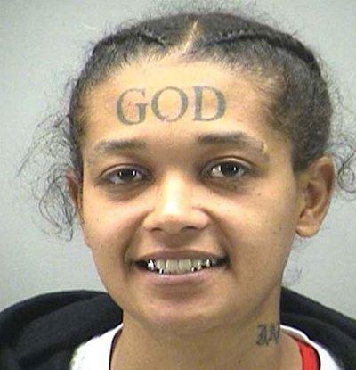 Джейми Кэллоуэй, имеет татуировку «Бог»