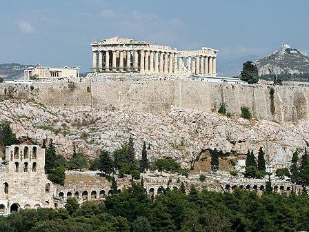 Парфенон - главный храм афинского Акрополя
