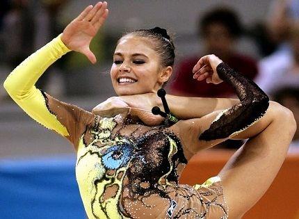 Спортсменка и красавица Алина Кабаева