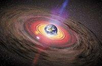 Наша планета расположена внутри Чёрной дыры