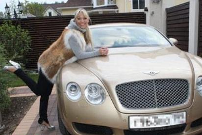 Ирина Салтыкова и Bentley