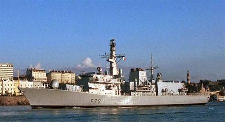 Фрегат Portland стал первым военным кораблём с женщиной капитаном