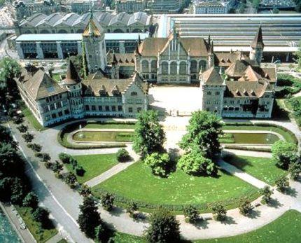 Один из самых красивых городов Швейцарии