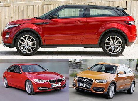 Всемирный женский автомобиль года: Range Rover Evoque, BMW 3-Series, Audi Q3