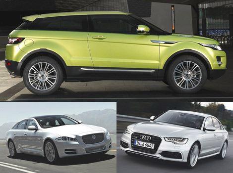 Лучший люксовый автомобиль:Range Rover Evoque, Jaguar XJ, Audi A6