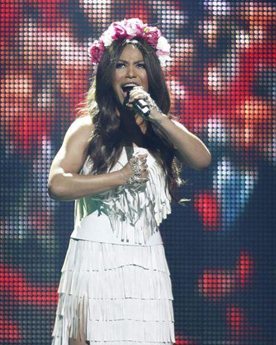 Певица Гайтана представила Украину