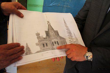 Проект храма в с. Бураново.