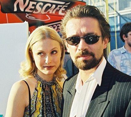 Владимир Машков с женой Ксенией