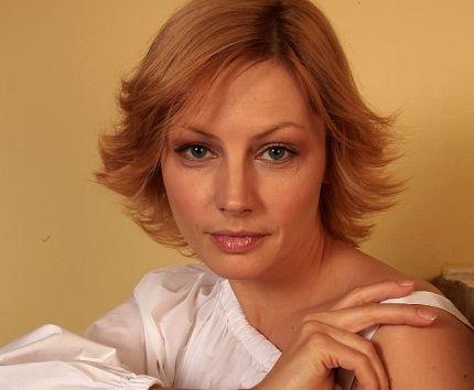 Популярная и востребованная актриса