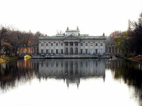 Лазенки – это любимое место и жителей Варшавы, и туристов