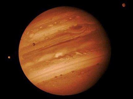 Самый большой в Солнечной системе