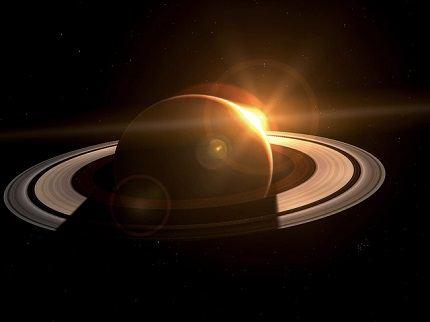 Величественный Сатурн