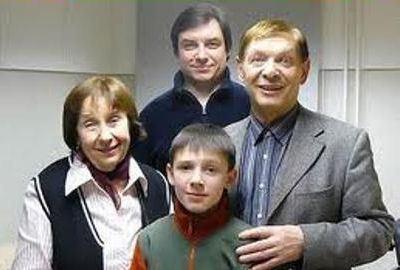 Семья Эдуарда Хиля