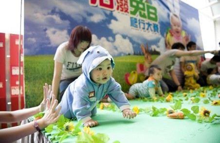 Малыши выступают в боевом раскрасе