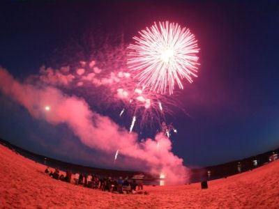 Фестиваль огня завершился фейерверком