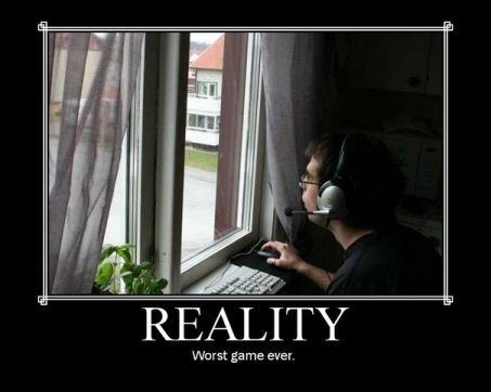 А за окном реальная жизнь...