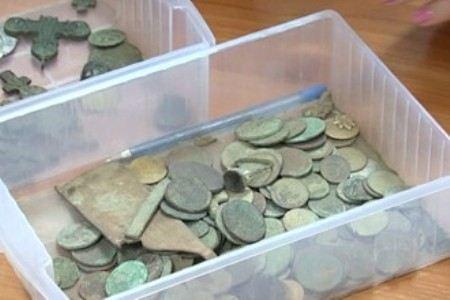 Чаще всего в земле находят старинные монеты