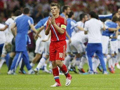 Сборная России покидает Евро-2012
