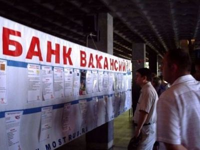 Банк вакансий содержит 163,9 тыс. свободных рабочих мест