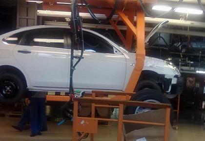 Nissan Almera - тестовый вариант