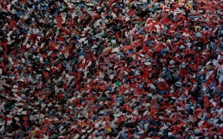 Измельченный пластик